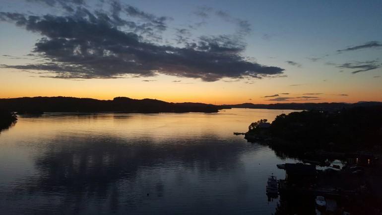 Solnedgang på Bjorøy